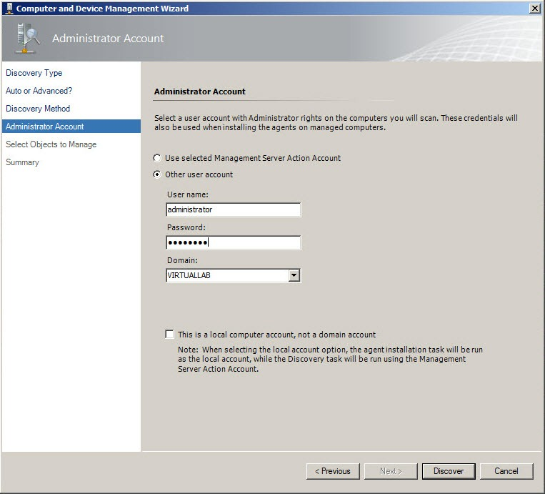 scom 2012 active directory management pack guide